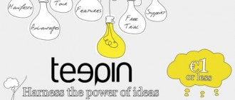 Teepin - crowdsourcing the ideas
