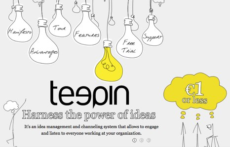 Teepin – crowdsourcing the ideas
