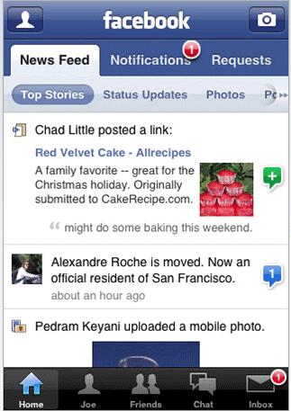 iphone-app-facebook