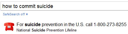 GoogleSuicide