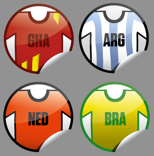 Get Glue World Cup stickers