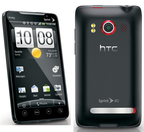 Sprint Releases HTC EVO Software Update To Fix Memory Card ...