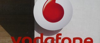 Vodafone logo by Dixel