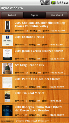 featured2 281x500 Everyones favorite wine app, Drync Wine, comes to Android.