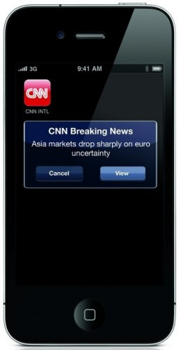 large thumbnail41 257x500 CNN goes worldwide; launches free international version of its iPhone app.