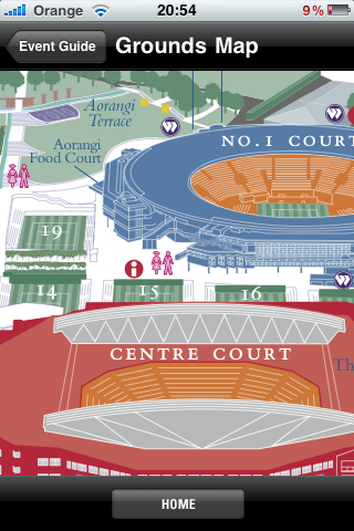 Wimbledon map