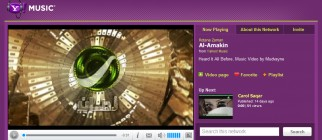 Concept Design of Rotana on Yahoo!