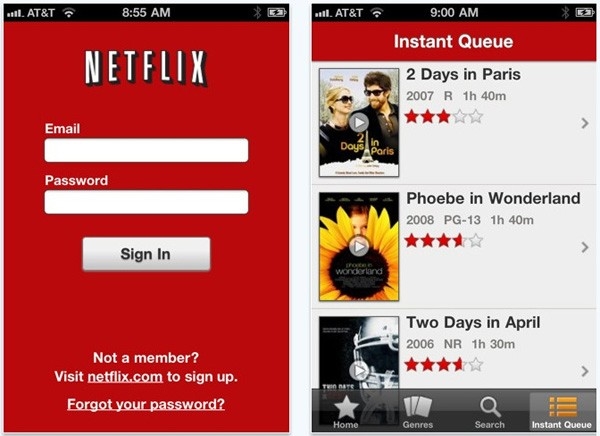 Netflix for iPhone