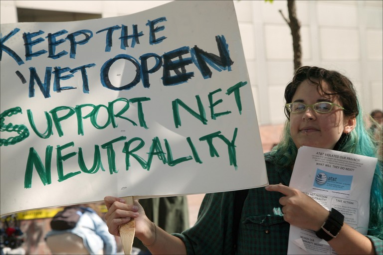 Amazon, Facebook, Google, Microsoft, and Twitter Defend Net Neutrality