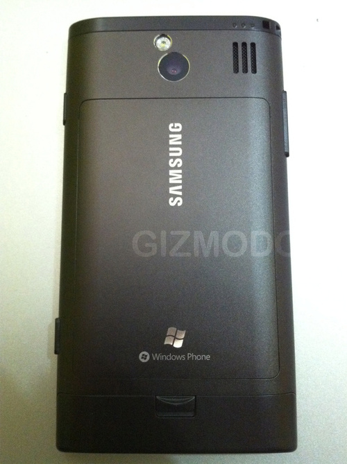 Samsung GT i8700 Windows Phone 7 Handset Leaks