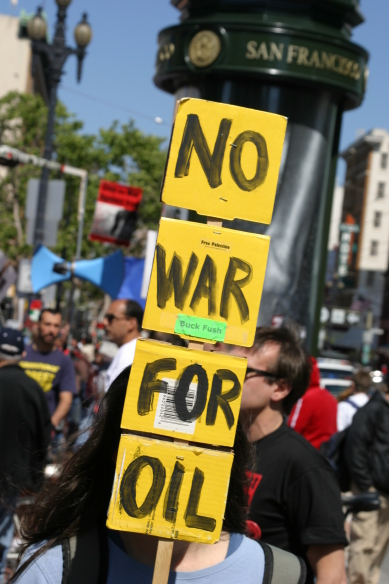 Offline Iraq War Protest just takes an online shape