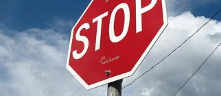 stop sign image by mike wu