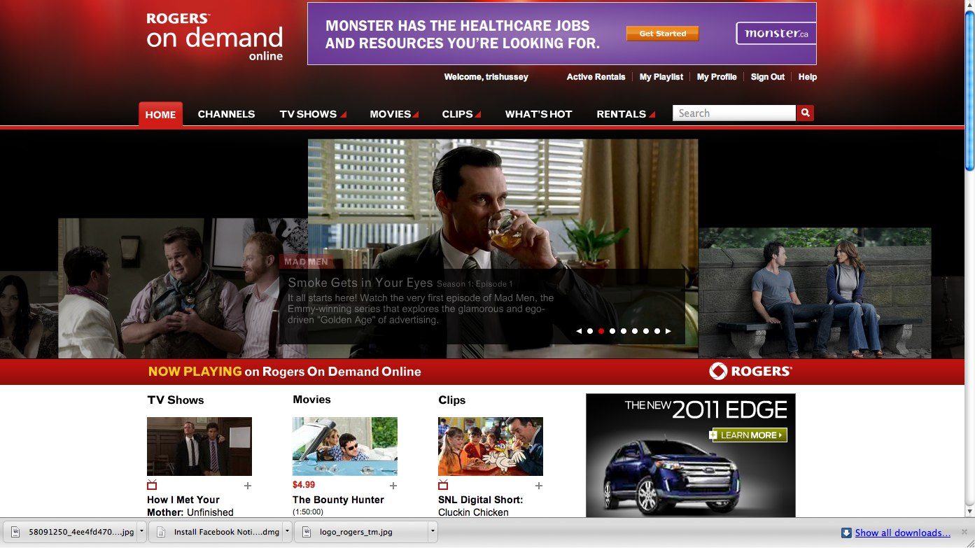 Rogers On Demand Online - Watch Free TV Shows, Free Movies, Clips & More.