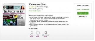 Vancouver Sun – Kobo