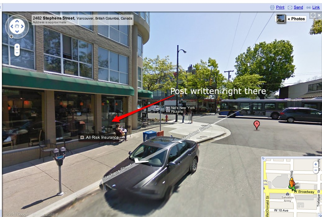 stephens & w. broadway, Vancouver, BC – Google Maps-1
