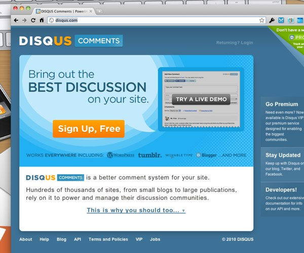 DISQUS Comments | Powering Discussion on the Web
