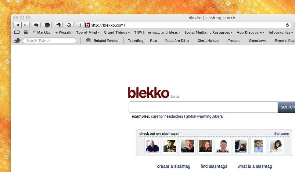 blekkohome The TNW Review: blekko   Is this finally a Google killer?