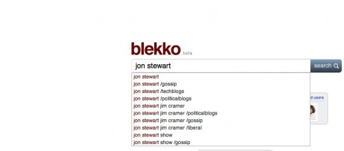 blekkojonstewart1 500x219 The TNW Review: blekko   Is this finally a Google killer?