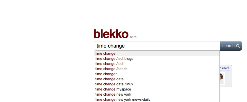 blekkotimechange1 The TNW Review: blekko   Is this finally a Google killer?