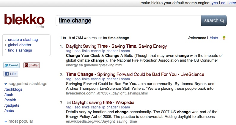 blekkotimechange2 The TNW Review: blekko   Is this finally a Google killer?