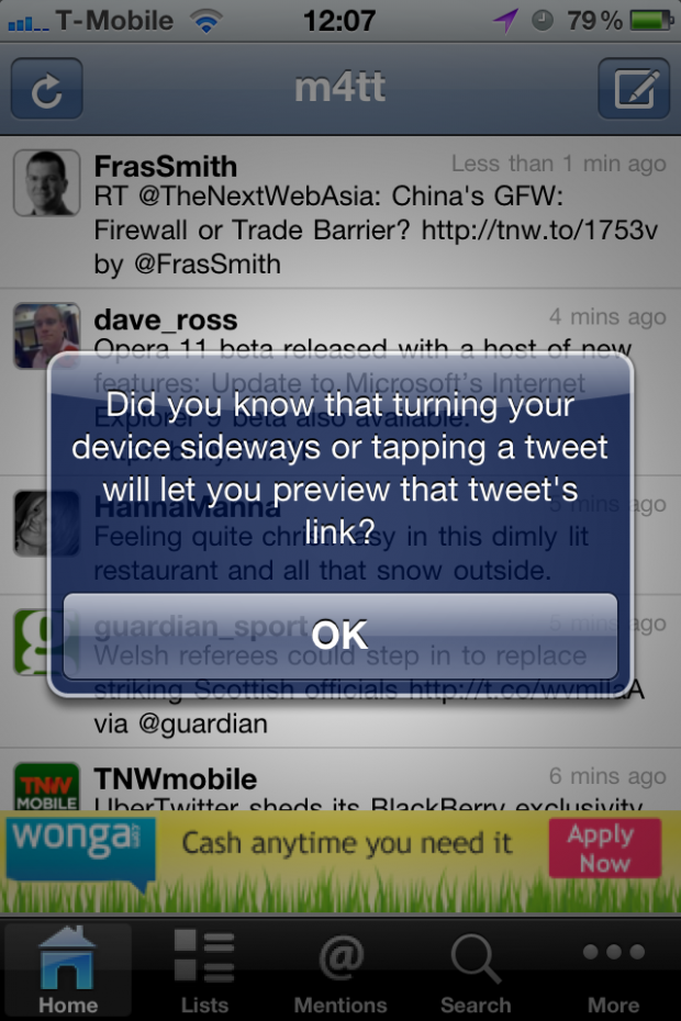 photo 1 620x930 UberTwitter sheds its BlackBerry exclusivity, comes to the iPhone