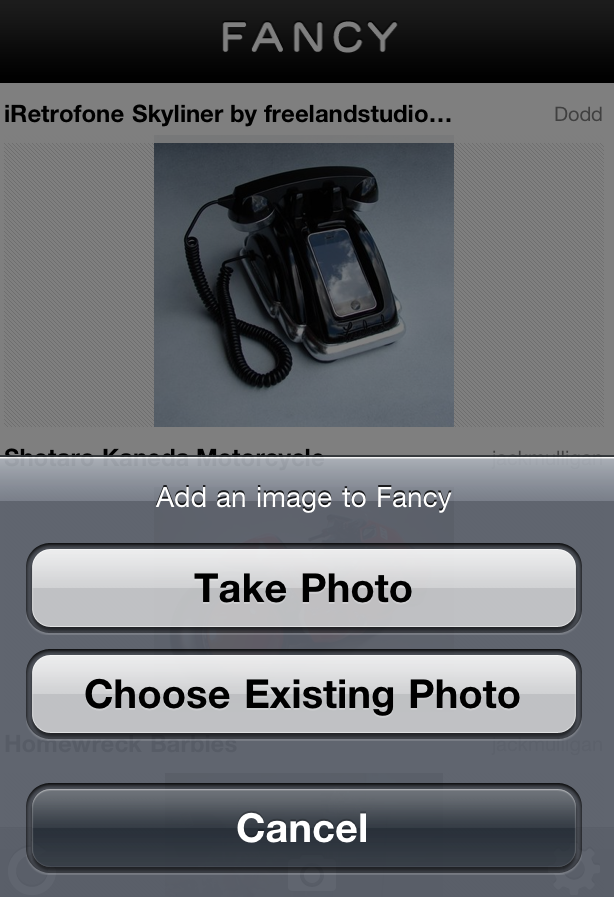 Fancy iPhone App Capture