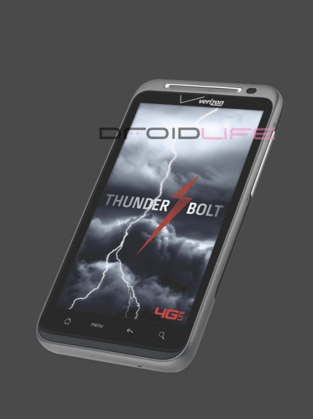 htc thunderbolt1 620x829 Photos of HTC Thunderbolt emerge, Verizons first LTE 4G handset