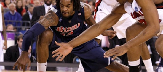 NCAA Sweet 16: Arizona Wildcats v Louisville Cardinals