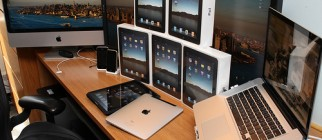 iPads on My Desk!