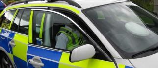 open car police