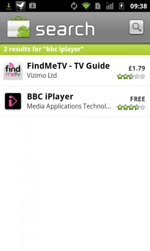 screenshot 300x500 BBC iPlayer Android App Launches