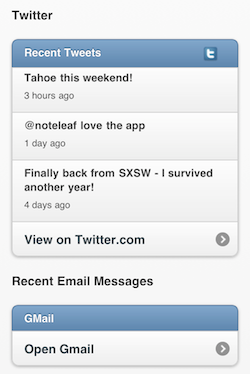 Screen shot 2011 03 17 at 9.30.02 AM Noteleaf: Timely reminders to your phone tell you about whom youre meeting