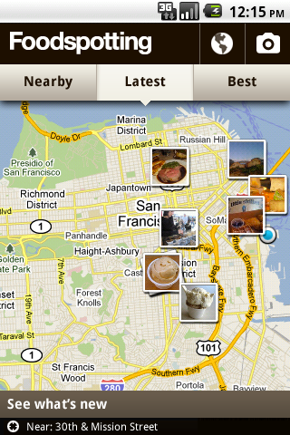 android fs map Foodspotting releases its nom finding app for the Android