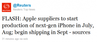 reuters iphone