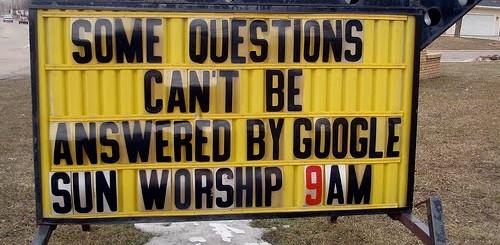Google Sun Worship