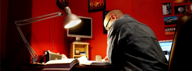 Self study at study