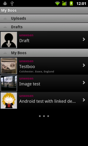 Audioboo 2 3 300x500 Audioboo 2.0 for Android finally catches up to the iOS version