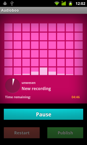 Audioboo 2 300x500 Audioboo 2.0 for Android finally catches up to the iOS version