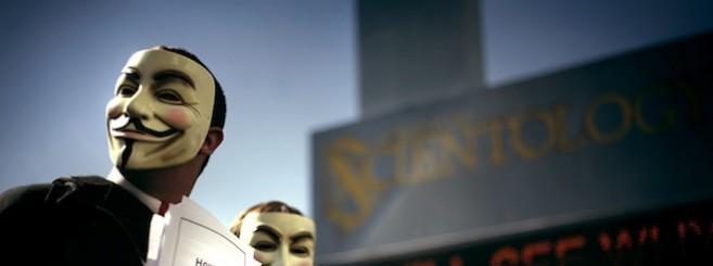 Anonymous vs. Scientology.