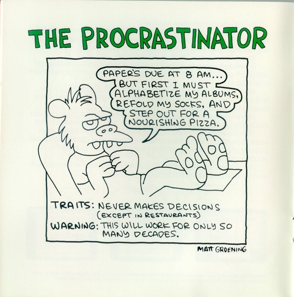 aygv4 Its 1989. The Simpsons creator Matt Groening is drawing for Apple Computer.