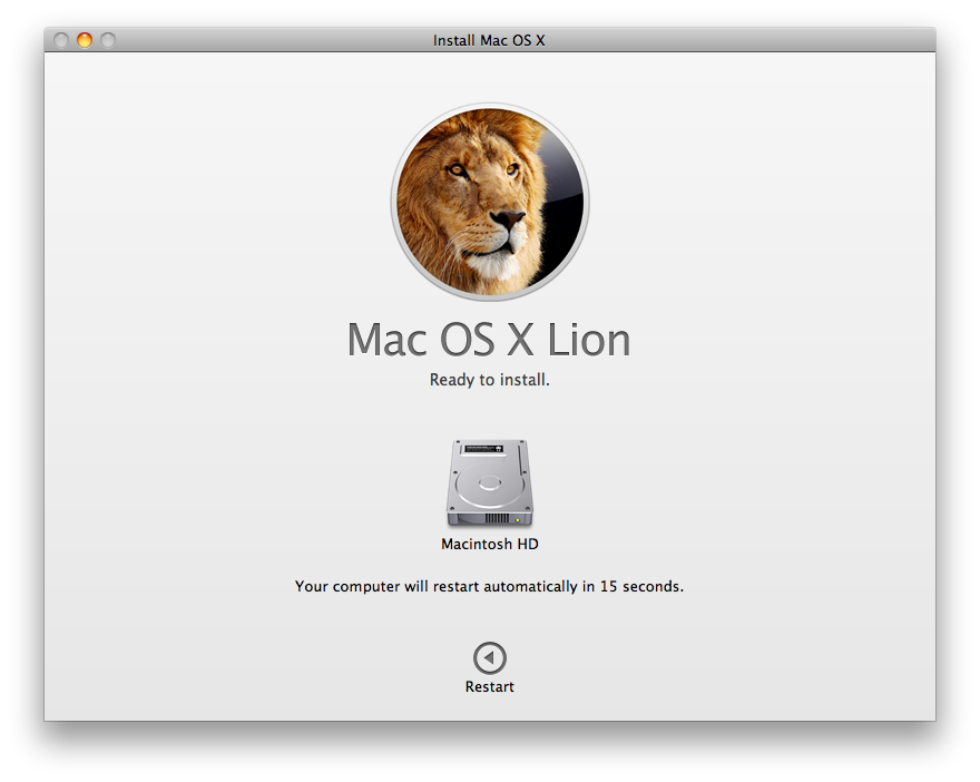 lion install