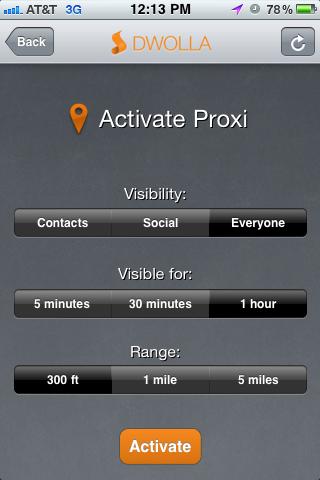 2. Proxi settings