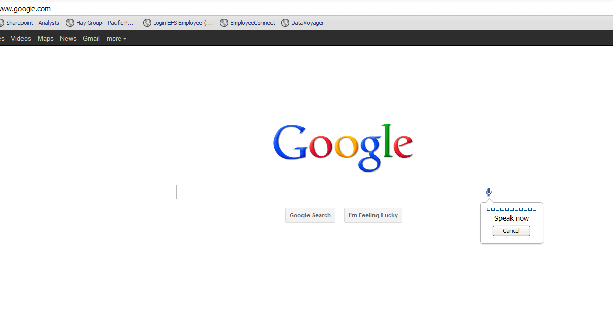 Google Testing Voice Search For Web Internationally. Here