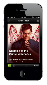1 splash 168x300 Check in app Miso becomes a social TV platform, set to offer interactive content for Dexter