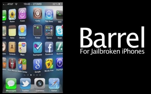 Barrel Cydia Tweak 520x323 Cydia and Jailbreak apps: The ecosystem, developers and increasing revenues