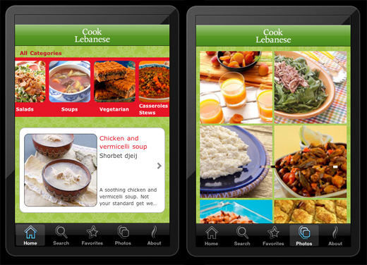 CL1 Want to learn how to cook Middle Eastern cuisine? Theres an app for that