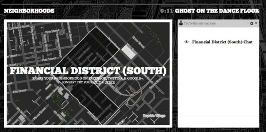 Financial District South   Blink 182   Neighborhoods 520x258 Get an early listen of Blink 182s Neighborhood with your neighbors via SoundCloud and SimpleGeo