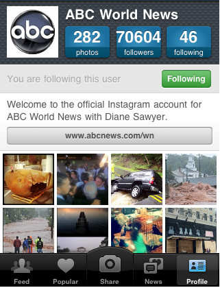 Screen shot 2011 09 25 at 19.06.58 10 inspiring accounts to follow on Instagram