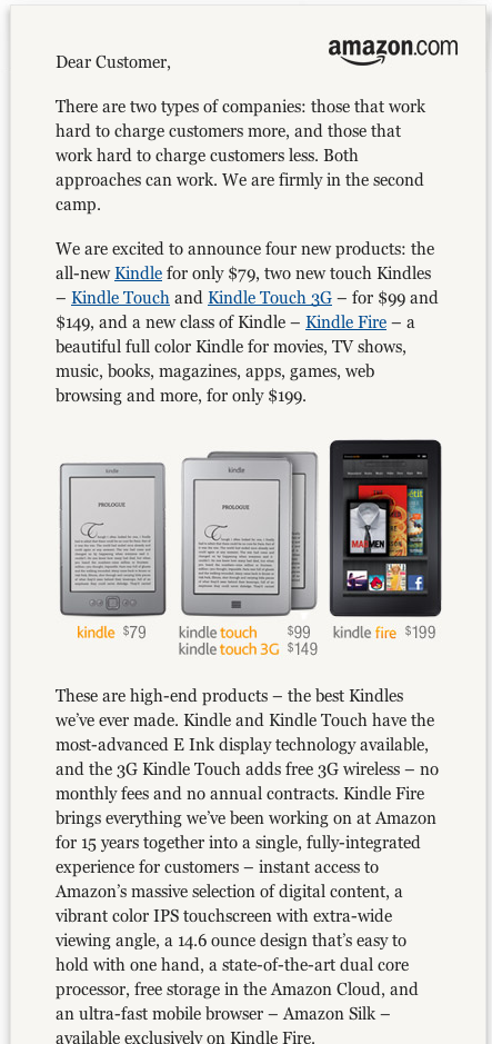 Screen shot 2011 09 28 at 2.07.53 PM Amazons Bezos: We worked hard to charge you less for Kindle fire