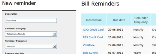 billbaba 1 Keep track of your bills and expenses with BillBaba's free Web App